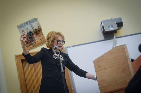 Эвелина Хромченко преподает в МГУ