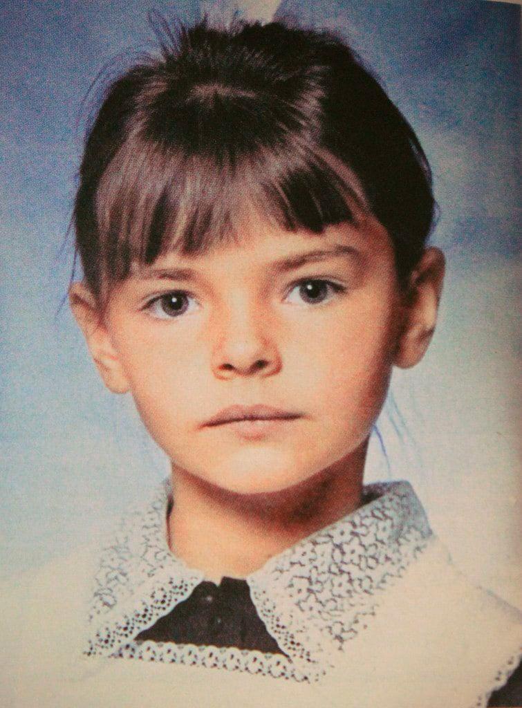 Елизавета Боярская в детстве