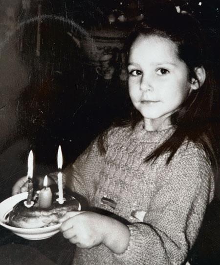 Глафира Тарханова в детстве