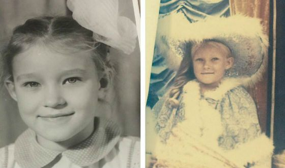 Анастасия Панина в детстве