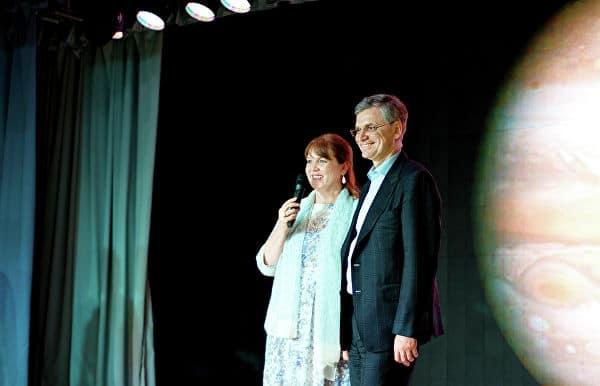 Николай Цветков с женой Галиной