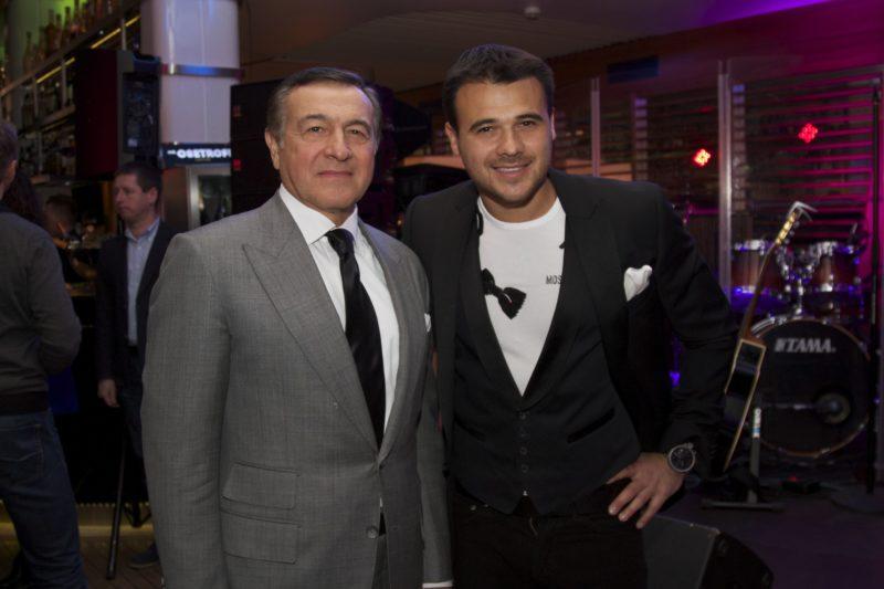 Арас Агаларов с сыном Эмином
