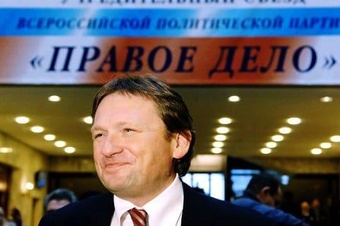 Борис Титов во главе партии «Правое дело»