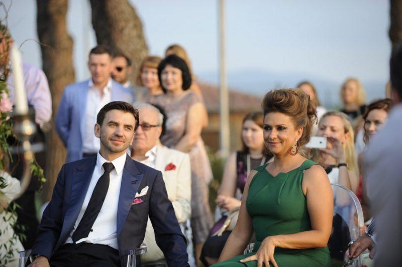 Михаил Абызов с женой Екатериной