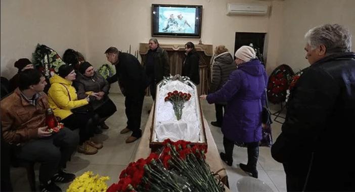 Похороны Петра Зайченко