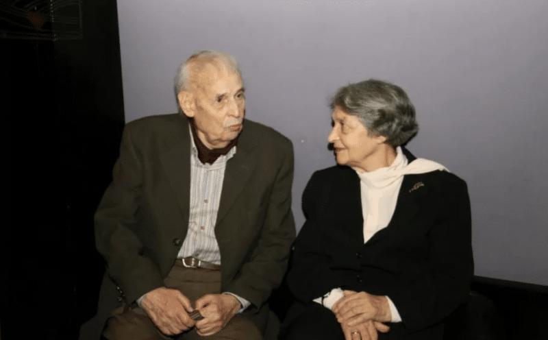 Анатолий Адоскин с женой Ольгой Тарасовой