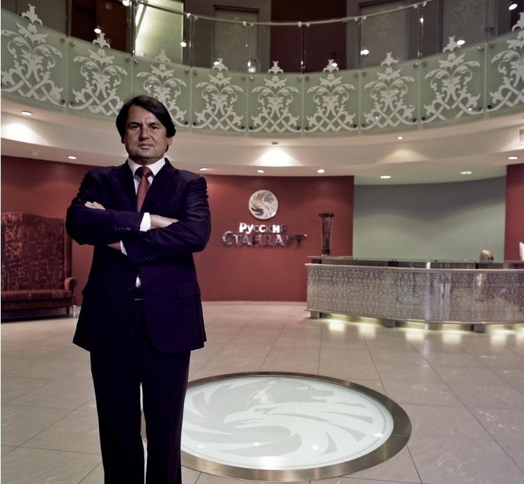 Рустам Тарико - основатель и владелец банка «Русский Стандарт»