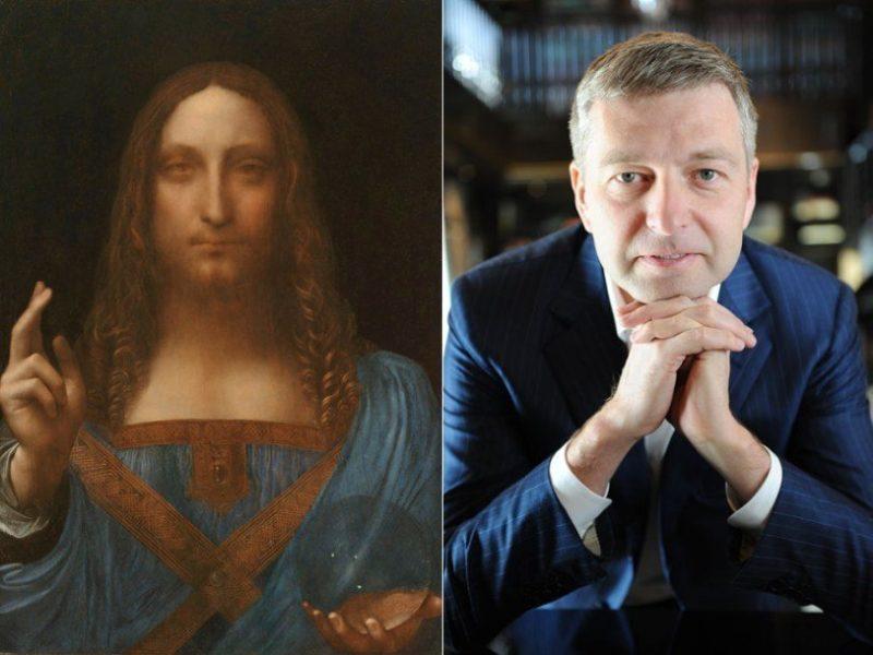 Картина Леонардо да Винчи проданная Дмитрием Рыболовлевым