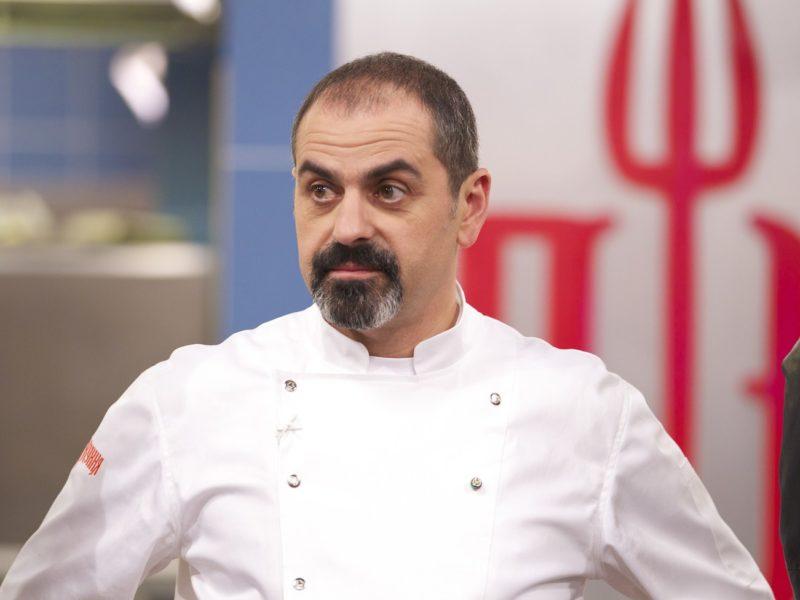 Арам Мнацаканов в передаче «Адская кухня»