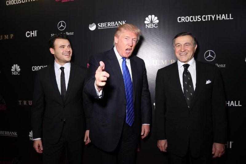 Арас Агаларов с Дональдом Трампом