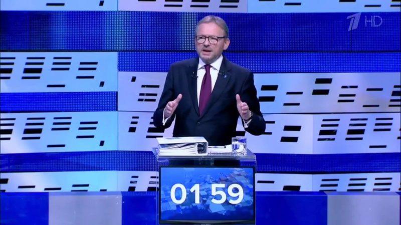 Борис Титов на дебатах