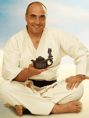 Владимир Довгань в кимоно
