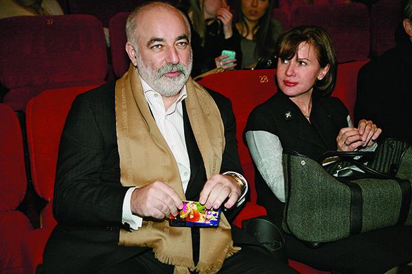 Виктор Вексельберг с женой Мариной