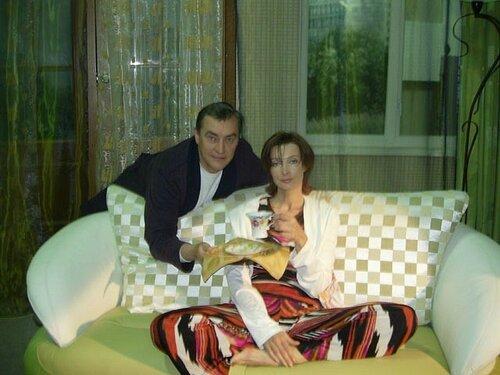 Евгений Меньшов и Лариса Борушко