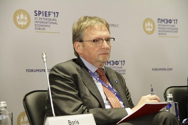Борис Титов на Петербургском международном экономическом форуме