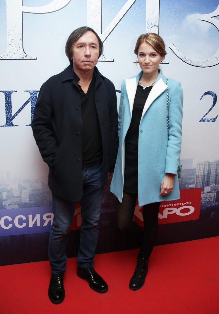 Ренат Давлетьяров и его вторая жена Евгения Малахова