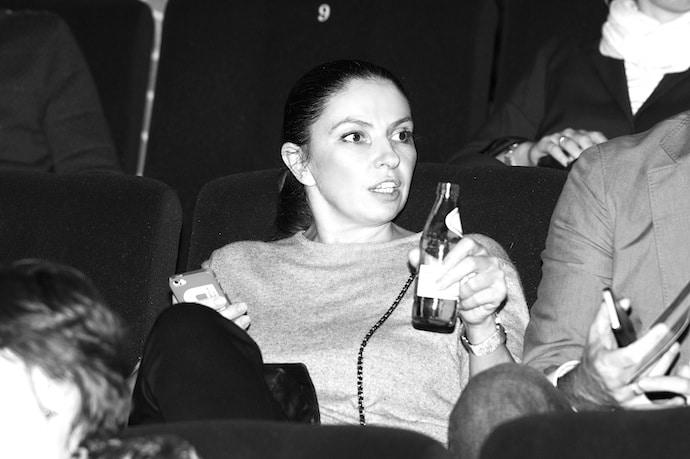 Наталья Синдеева в молодости
