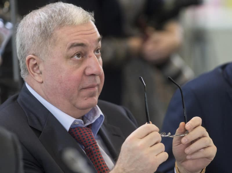 Михаил Гуцериев в партии ЛДПР