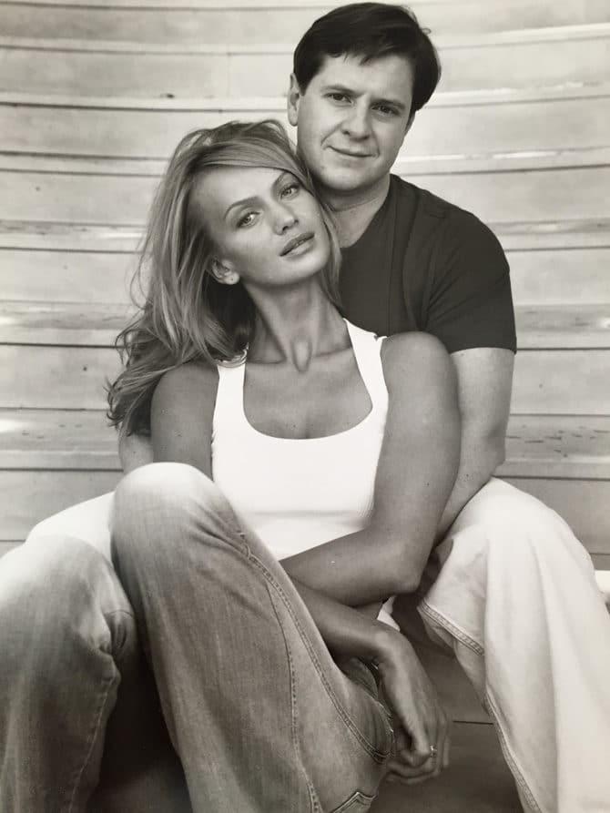 Андрей Бородин и его жена Татьяна Корсакова