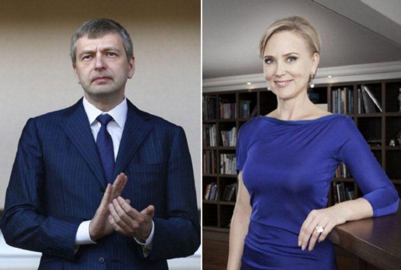 Дмитрий Рыболовлев и его жена Елена