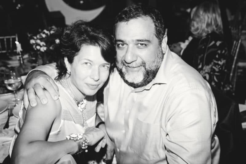 Рубен Варданян с женой