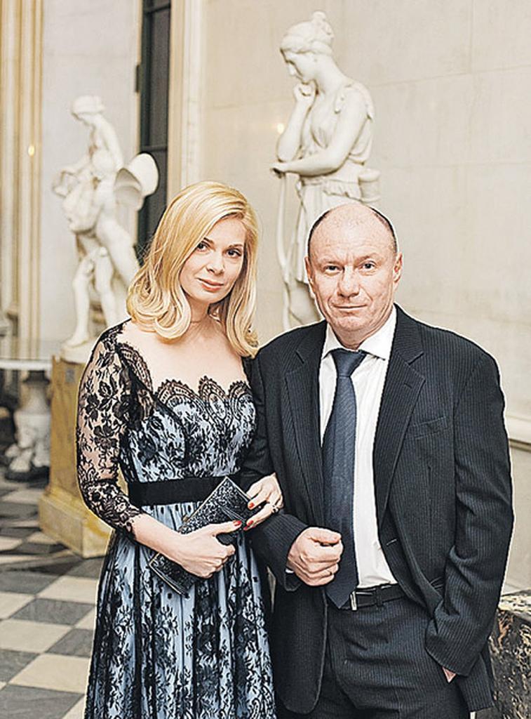 Владимир Потанин с новой женой Екатериной