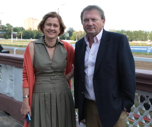 Борис Титов с женой Еленой