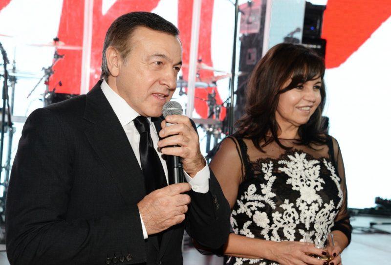 Арас Агаларов с женой Ириной
