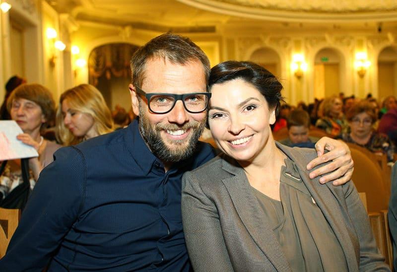 Наталья Синдеева с третим мужем Александром Винокуровым