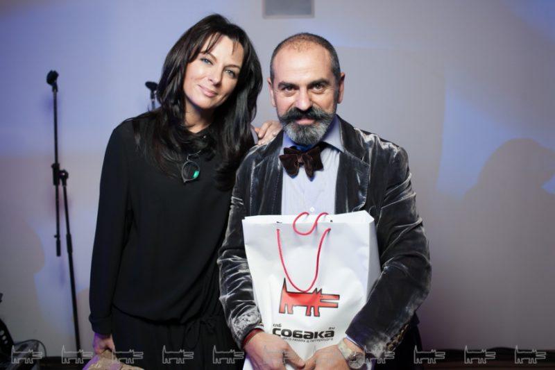 Арам Мнацаканов с женой Натальей Малиновской