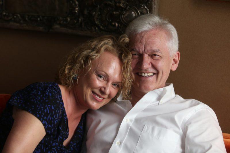 Геннадий Тимченко с женой Еленой