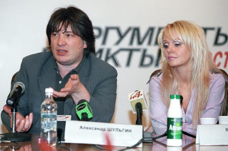 Александр Шульгин с Валерий