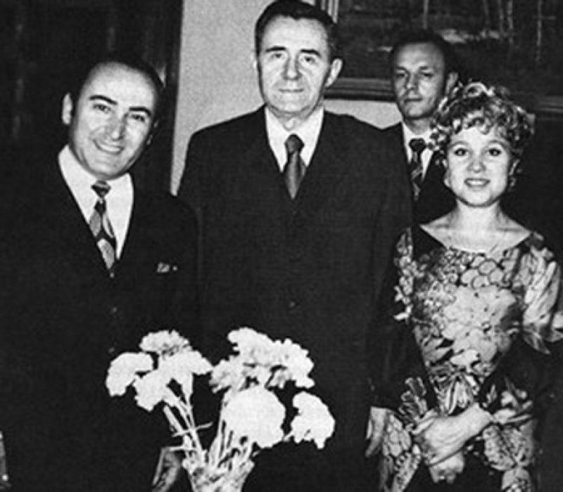 Свадьба Вилли Хштояна и Надежды Румянцевой