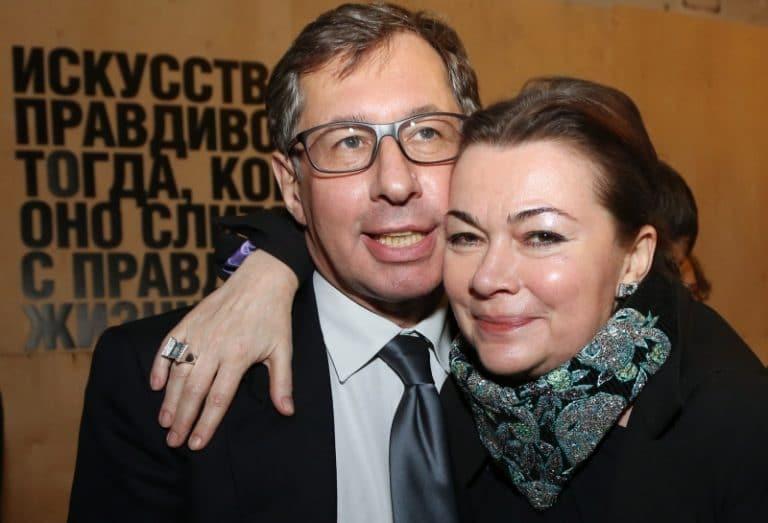 Петр Авен с женой Еленой