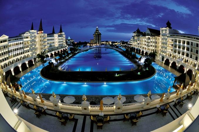 Отель Тельмана Исмаилова «Mardan Palace»