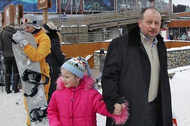 Владимира Лисина с дочкой