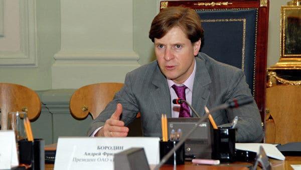 Бизнесмен Андрей Бородин