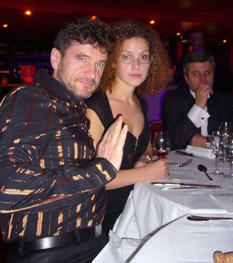 Николай Максимов и Оксана Озорнина
