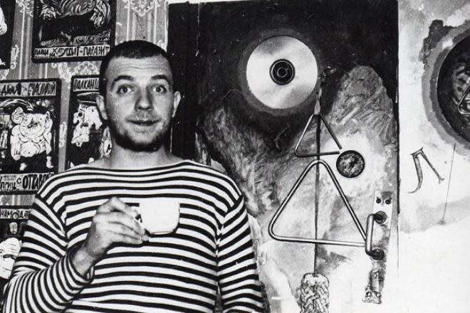 Сергей Пахомов в молодости