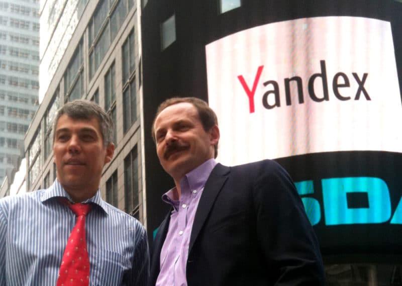 Аркадий Волож и Илья Сегалович презентуют Яндекс
