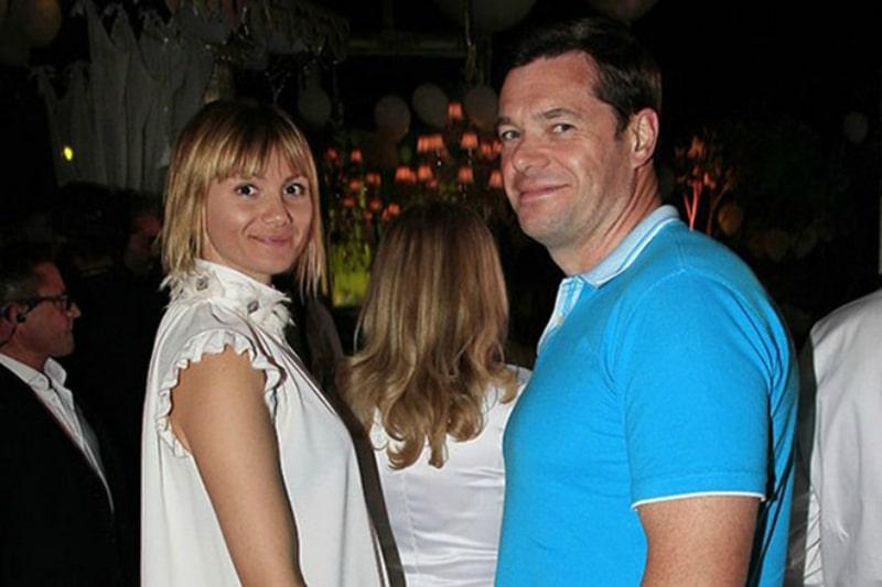 Алексей Мордашов со второй женой