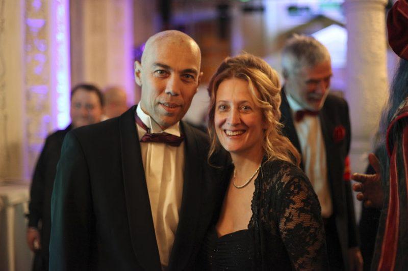 Илья Сегалович с женой Марией Елисеевой