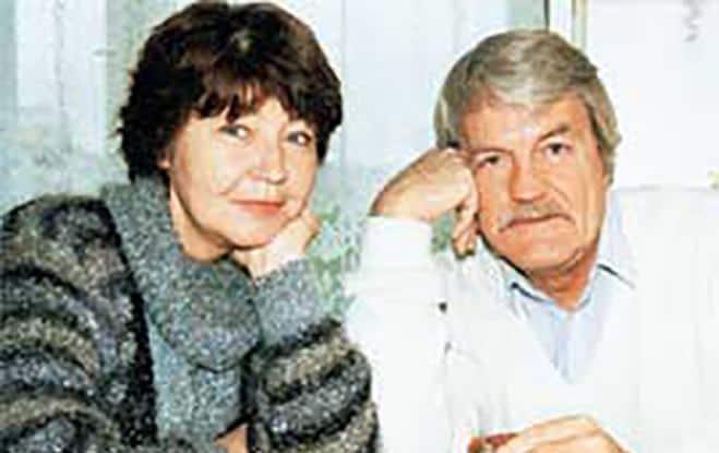 Леонид Кулагин с женой Элеонорой Лапицкой