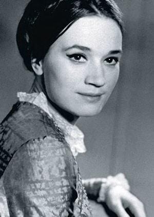 Людмила Полякова в молодости