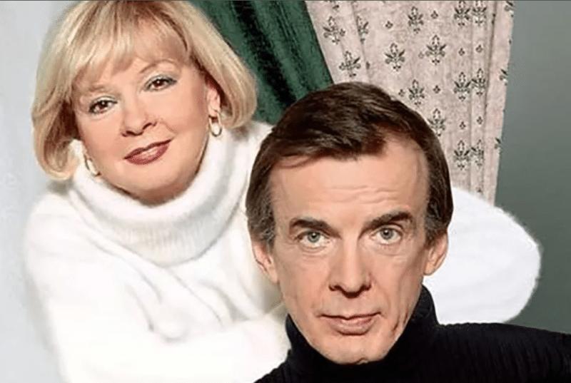 Екатерина Маркова и ее муж Георгий Тараторкин
