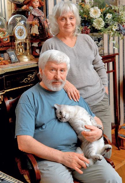 Ольга Антонова и ее муж Игорь Иванов