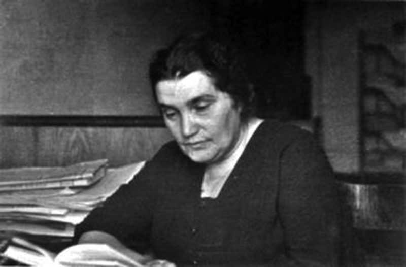 Писательница Евгения Гинзбург