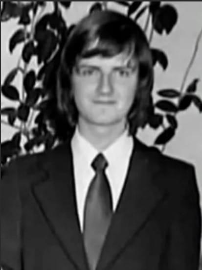Юрий Аксюта в молодости