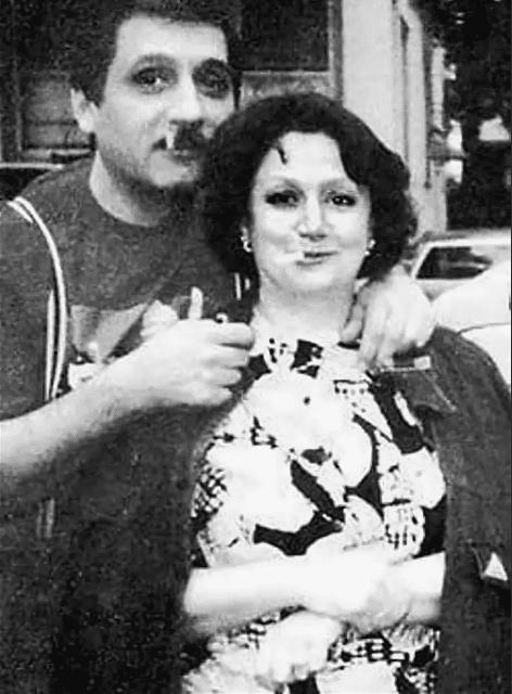 Екатерина Райкина с третим мужем Владимиром Ковалем