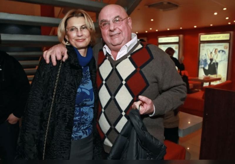 Владимир Долинский с женой Натальей Волковой